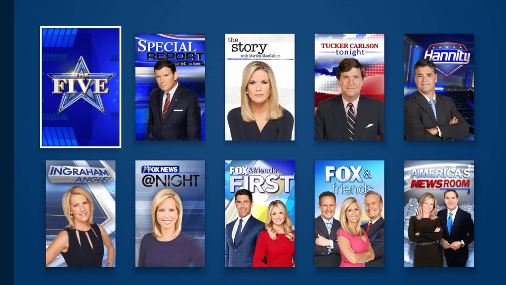 Fox News app on Firestick