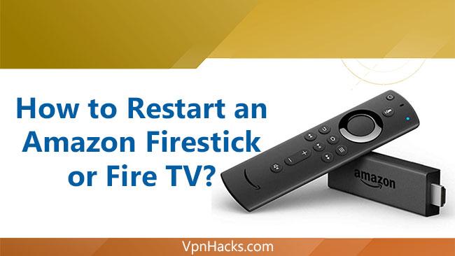 How to Restart Firestick/FireTV