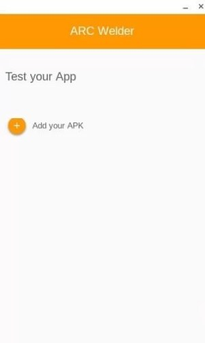 Select Add your Apk