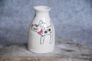 Dog Vase