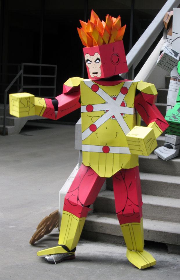 lego minimate firestorm cosplay