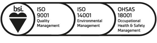 BSI ISO 9001 ISO 14001 OHSAS 18001