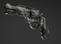 Revolver R8 Masque osseux