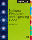 NFPA 72 2013 Tabbed