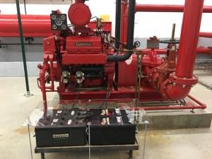 Peerless HSC Fire Pump Cummins Diesel Motor