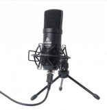 image of desktop mic for podcasting