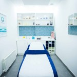 inside of a treatment room to show business brand image
