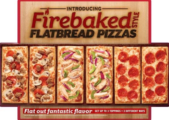 PIZZA HUT FIREBAKED STYLE FLATBREAD PIZZA