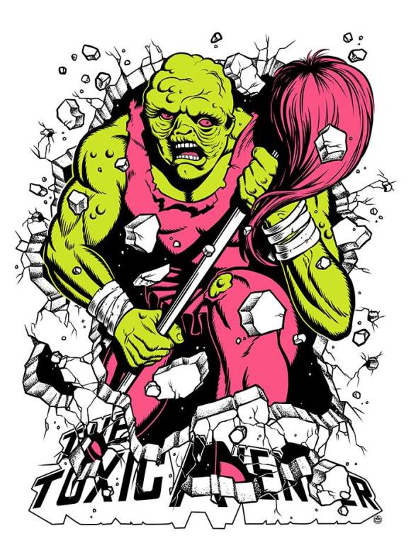 The Toxic Avenger by Matthew Skiff