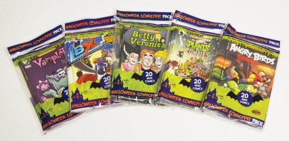 HCF14 Poly bag Comics_group