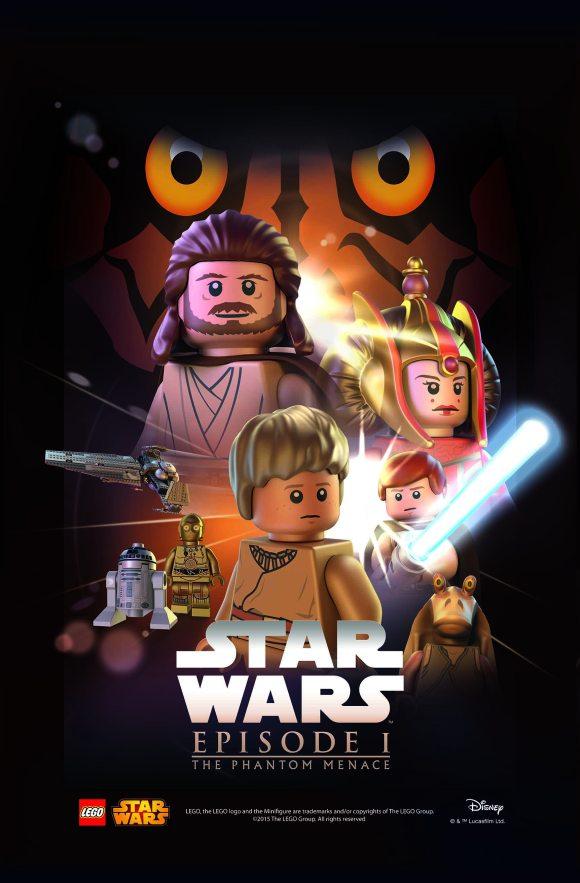 LEGO Star Was Movie Poster - Episode 1