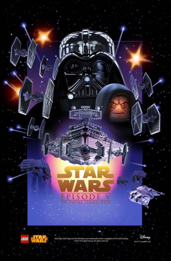 LEGO Star Was Movie Poster - Episode 5 v1