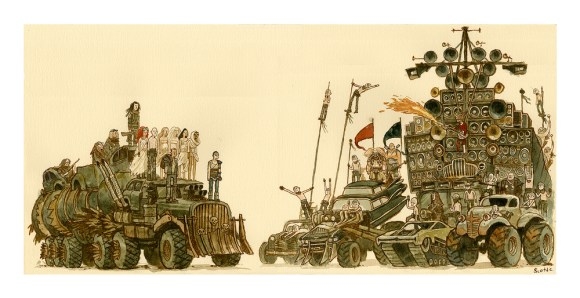Mad Max Fury Road - A Lovely Day by Scott C