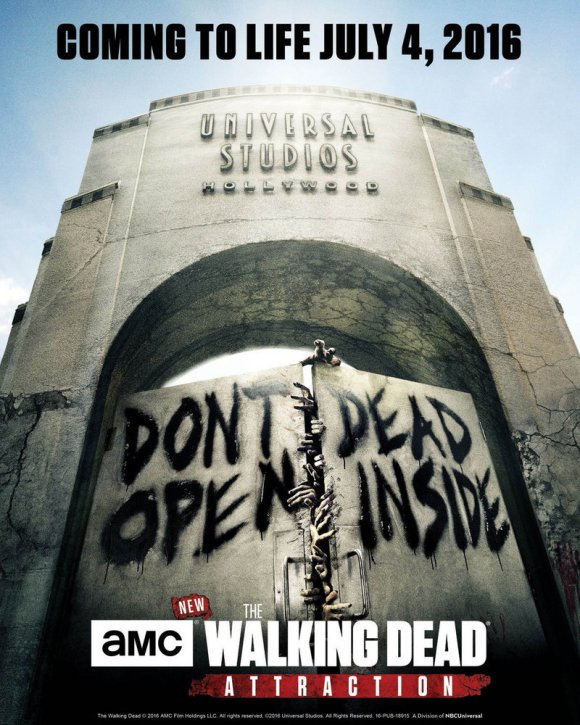 The Walking Dead Attraction