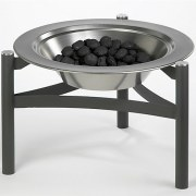 Dancook Firepit - filled with coal