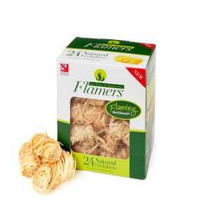 Box of 24 natural firelighters