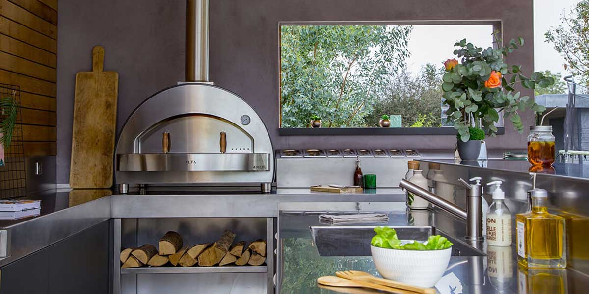 best wood for pizza ovens delivered
