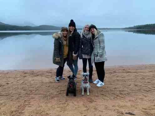 A wintery walk around Loch Morlich December 2018