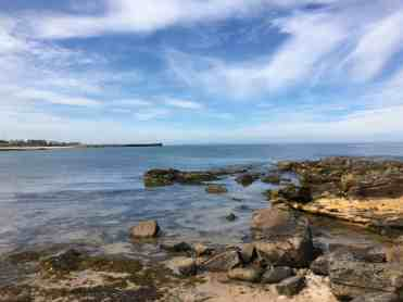 With rocks at each end, Hopeman is ideal for some rock pooling
