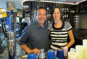 Michael and Marijke Pauwels are the delightful proprietors of The Globe in Garden Grove, CA