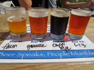 Beer samplers provide an opportunity to try a wide range of Lagunitas beers.