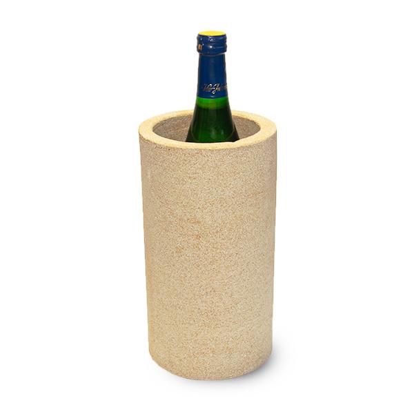 Sandstein Weinkühler Rund