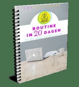 Routine in 20 dagen - cursus