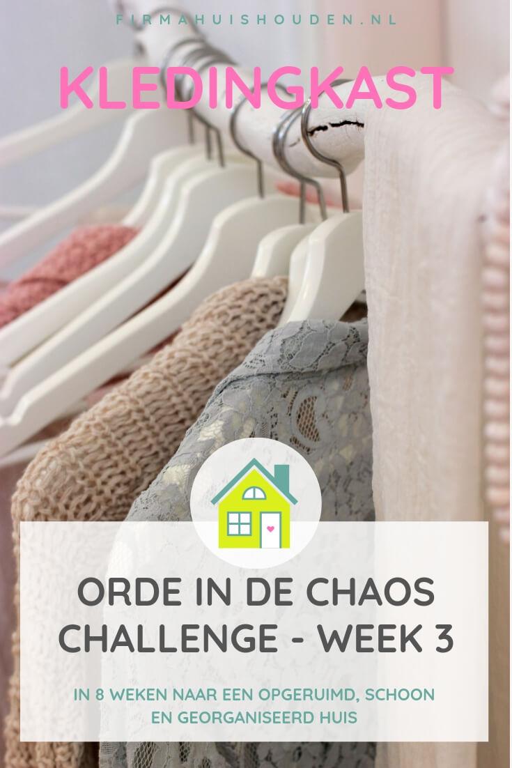 Challenge Orde in de Chaos - Kledingkast