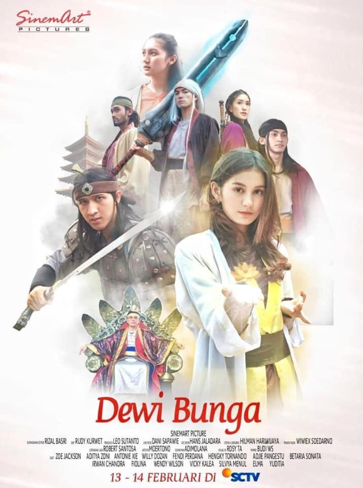 Sinetron Dewi Bunga, SCTV, Sutradara Rizal Basri
