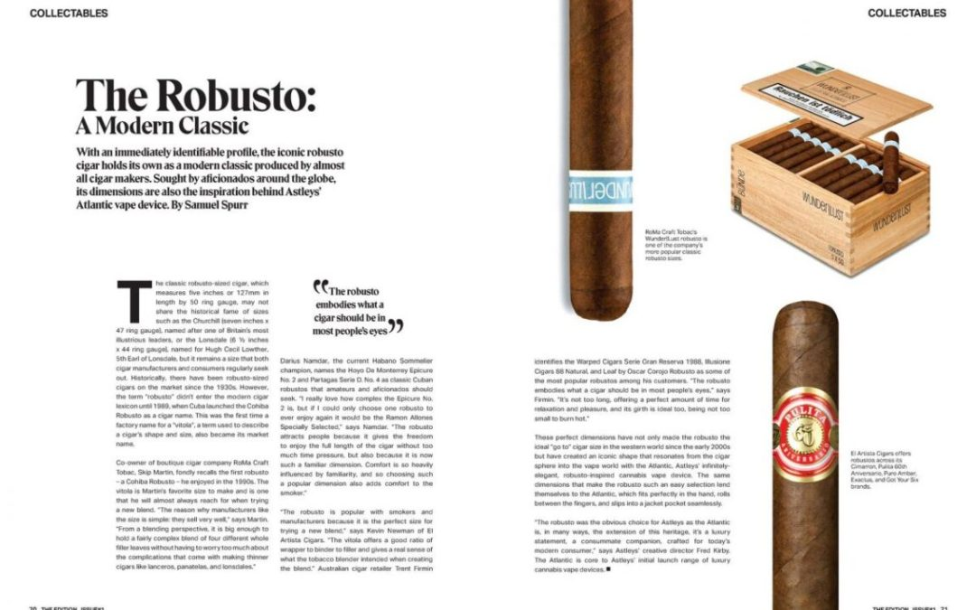 THE ROBUSTO – by Samuel Spurr