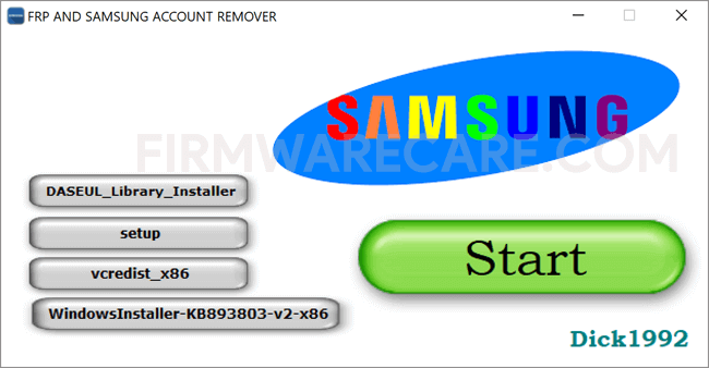 FRP And Samsung Account Remover