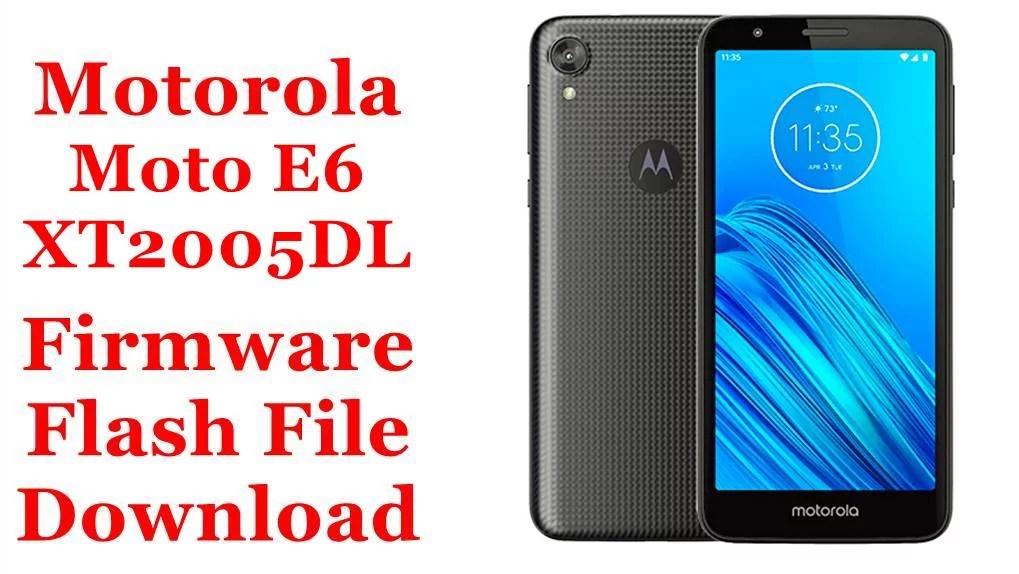 Motorola Moto E6 XT2005DL