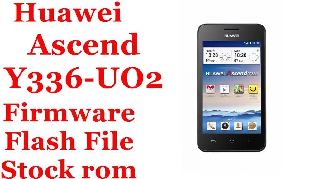 Huawei Ascend Y336 U02