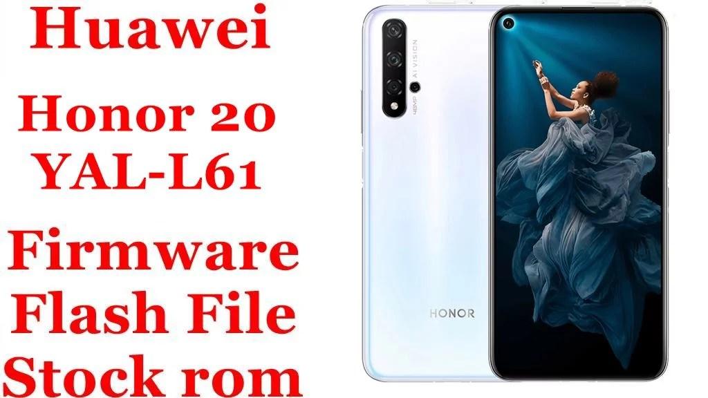 Huawei Honor 20 YAL L61