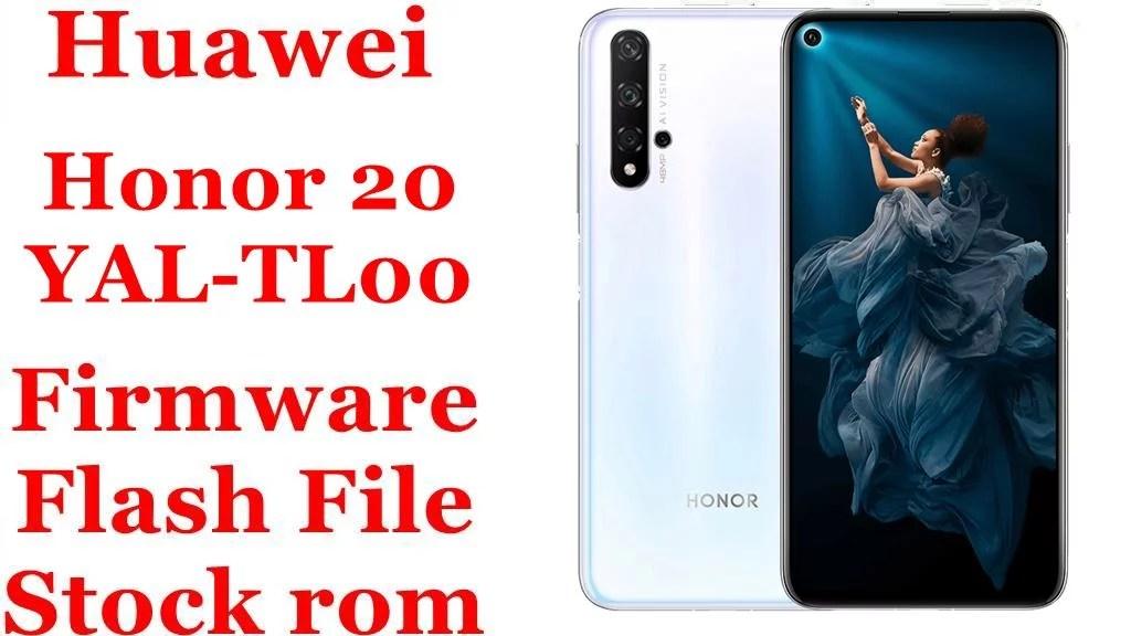 Huawei Honor 20 YAL TL00
