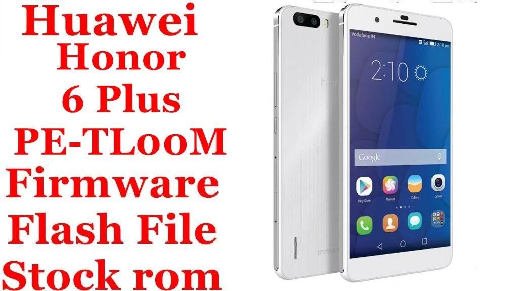 Huawei Honor 6 Plus PE TL00M