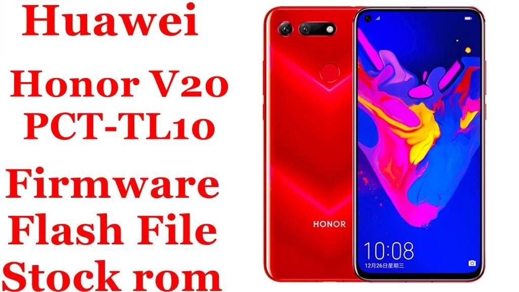 Huawei Honor V20 PCT TL10