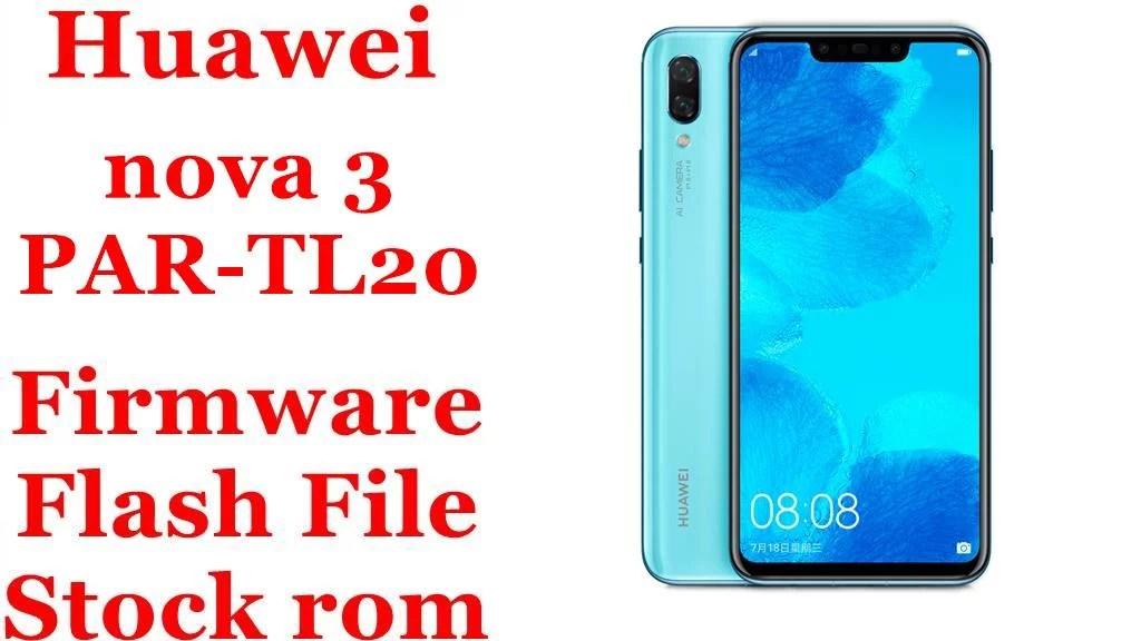 Huawei nova 3 PAR TL20