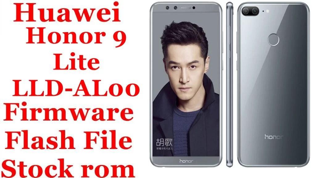 Huawei Honor 9 Lite LLD AL00