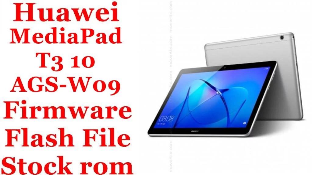 Huawei MediaPad T3 10 AGS W09