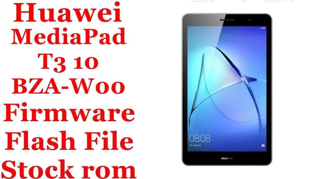 Huawei MediaPad T3 10 BZA W00