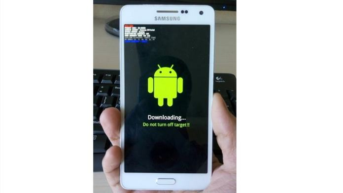 Samsung Phone Flashing Mode