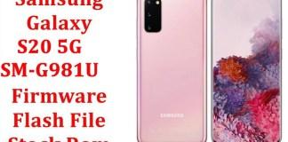 Samsung Galaxy S20 5G SM G981U