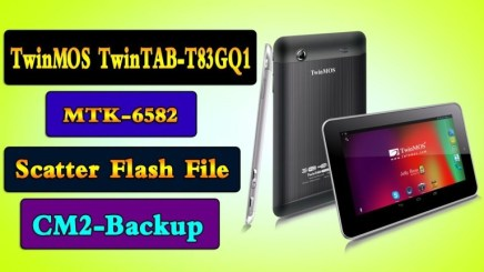 TwinMOS TwinTAB-T83GQ1 Firmware Flash Without Password