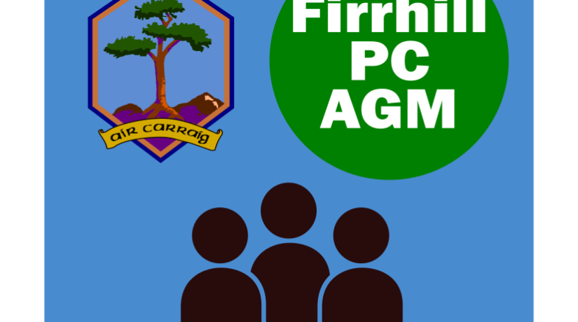 Firrhill Parent Council Annual General Meeting – 10 September 2018