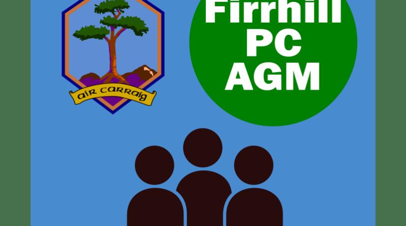 Firrhill Parent Council Annual General Meeting – 10 September 2018