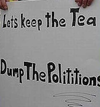 Teabagger-illiterate