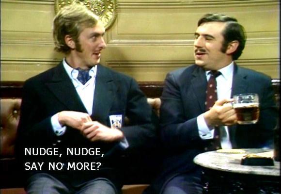 Nudge-nudge