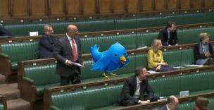 Tweeter does parliament