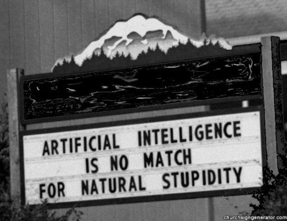 Stupidity AI